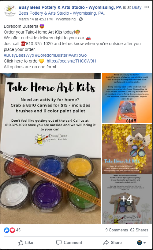 Busy Bees Art Kits