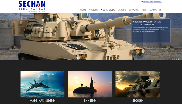 Sechan-Homepage