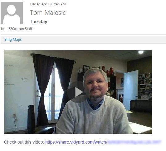 Tom Vidyard Example