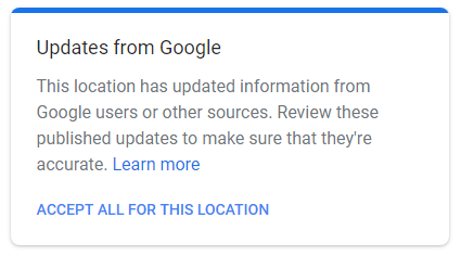Updates from Google