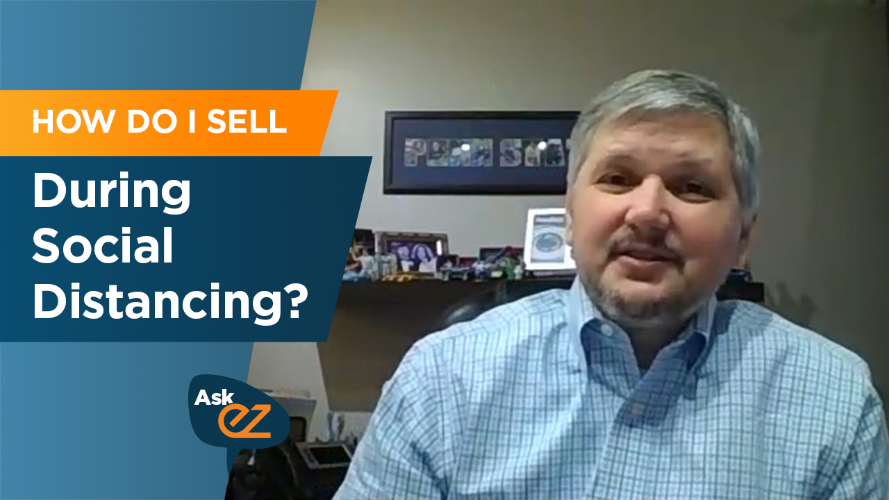 How do I sell during social distancing