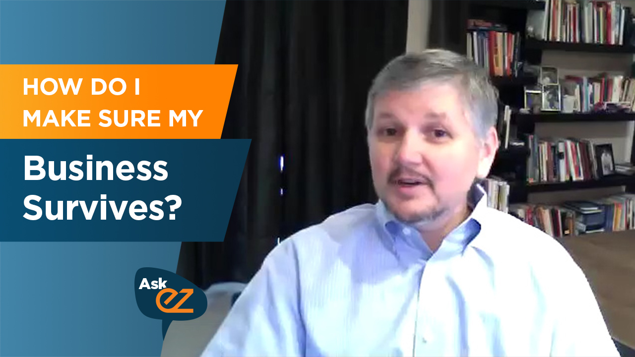 How do I make sure my business survives