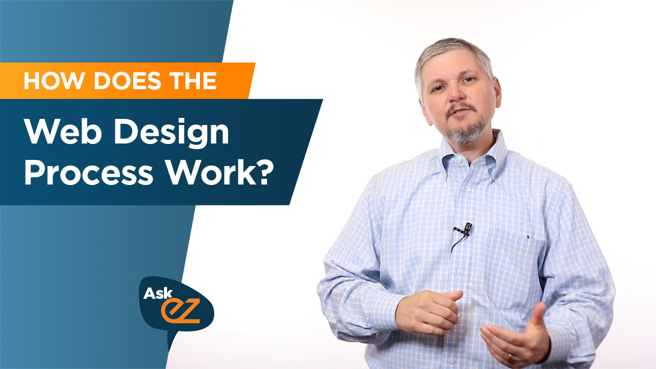 How does the web design process work?