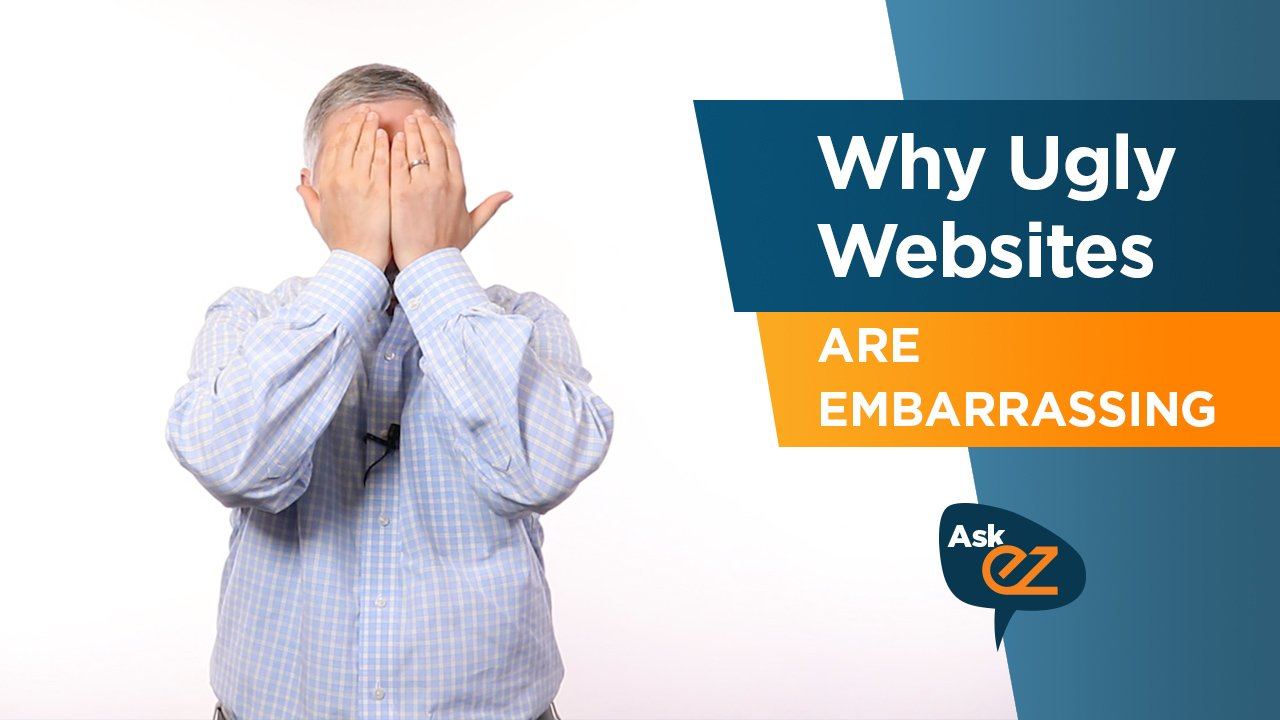 Why ugly websites are embarrassing