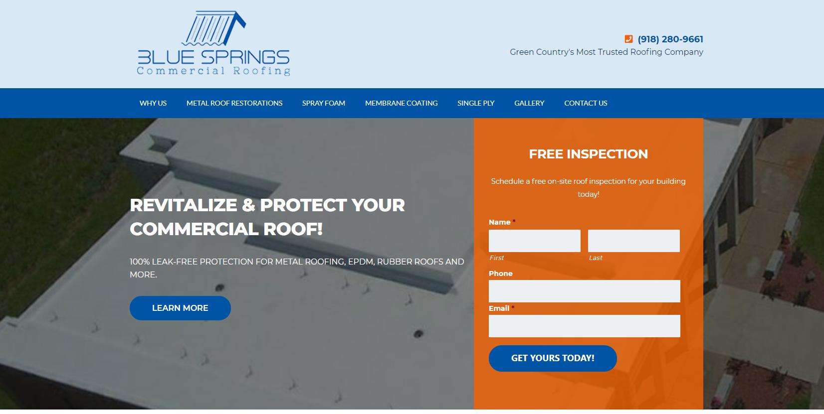 Blue Springs Homepage