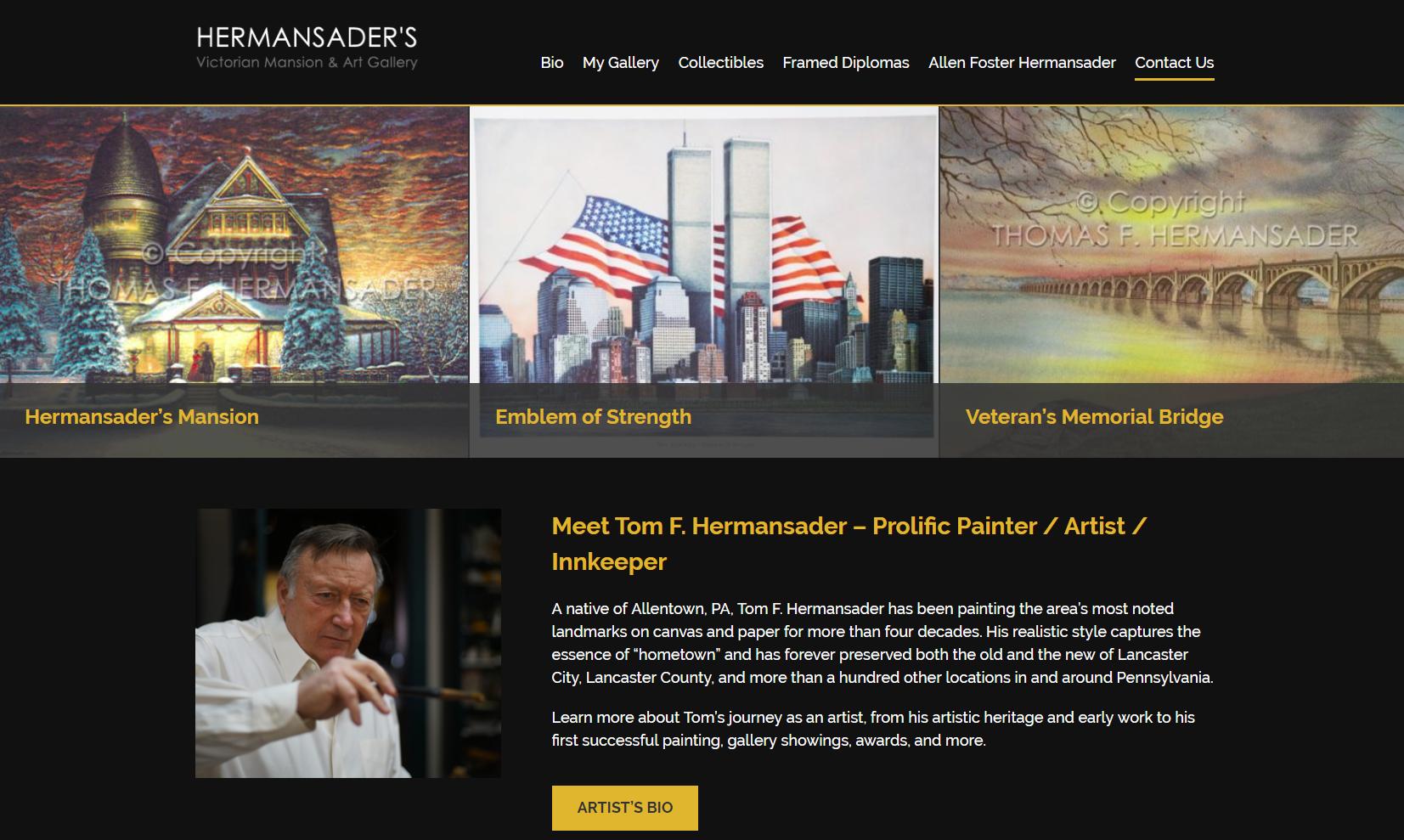 HermansaderHomepage