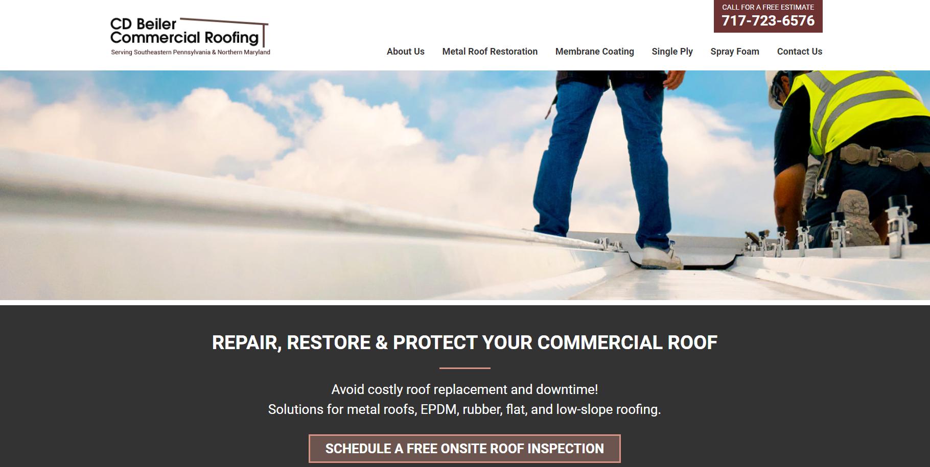 CDBeiler-Roofing-Homepage