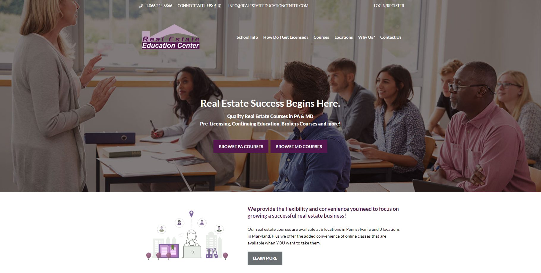 Real Estate Education Homepage
