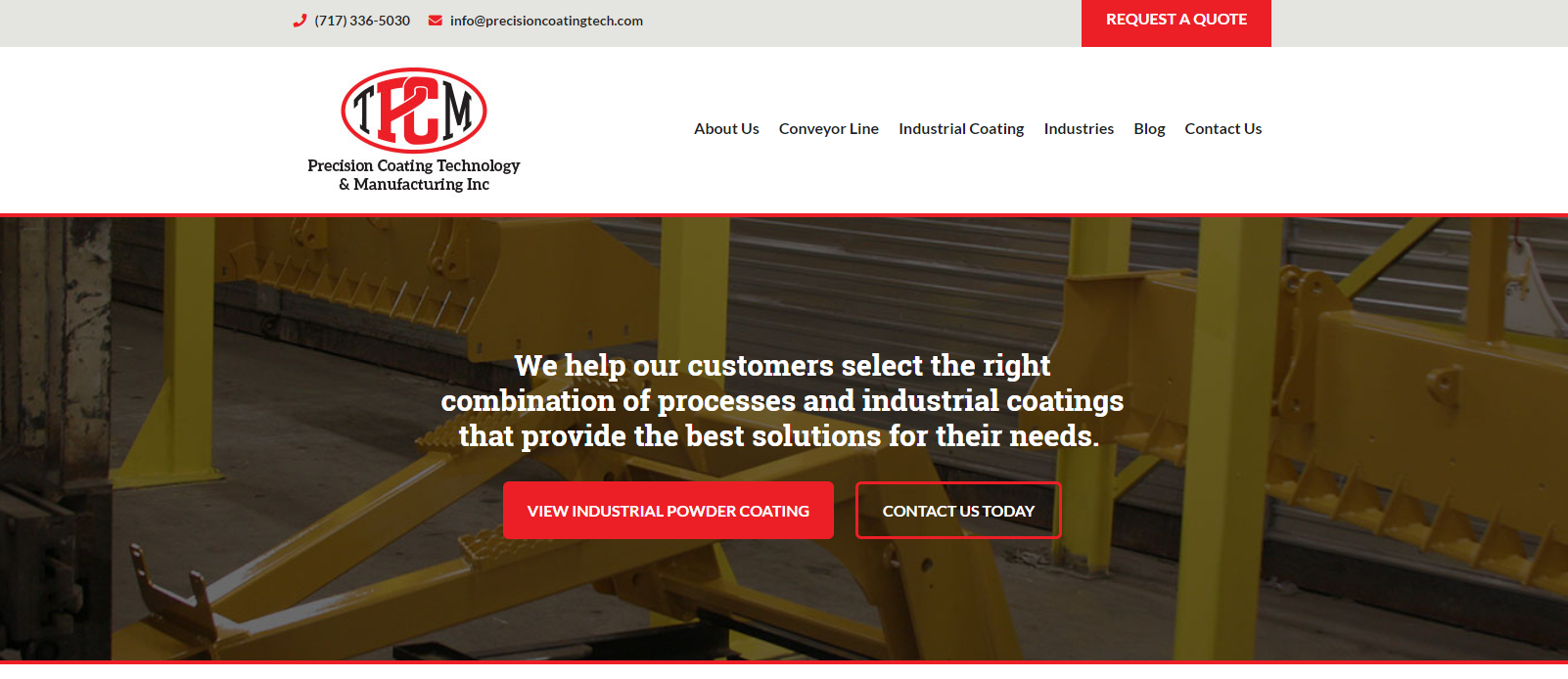 Homepage   Lancaster  PA   Precision Coating